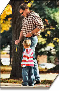 child in-kind support fathers