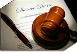 divorce service of process