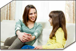listening kids talk