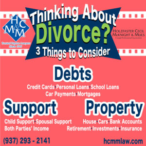 divorce dissolution dayton ohio
