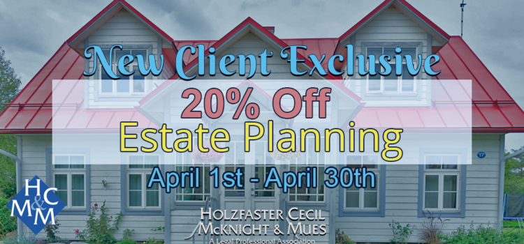coronavirus estate planning 20% off
