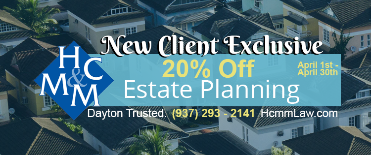 Estate Planning 20% Discount