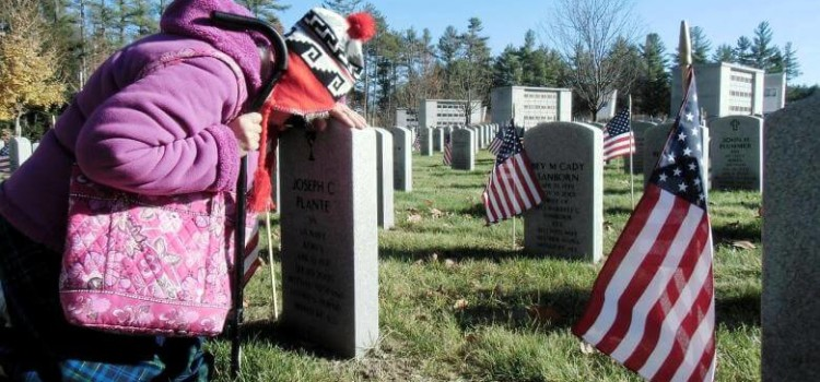 VA national cemetery pre-need burial eligibility program