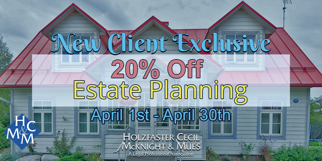 dayton law firm 20% off estate planning